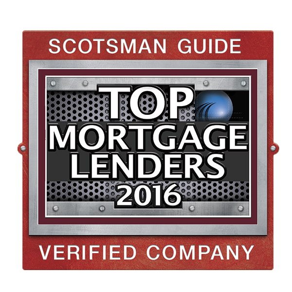 Scotsman Guide Top Mortgage Lender 2016 Logo