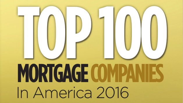 op 100 Mortgage Companies in America 2016 Logo